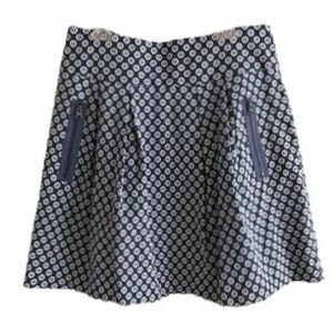 Anthropologie Maeve Fourth Street Mini Skirt 10